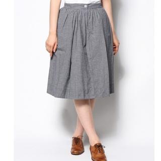 マーガレットハウエル(MARGARET HOWELL)のMHL グラフチェックスカート(ひざ丈スカート)