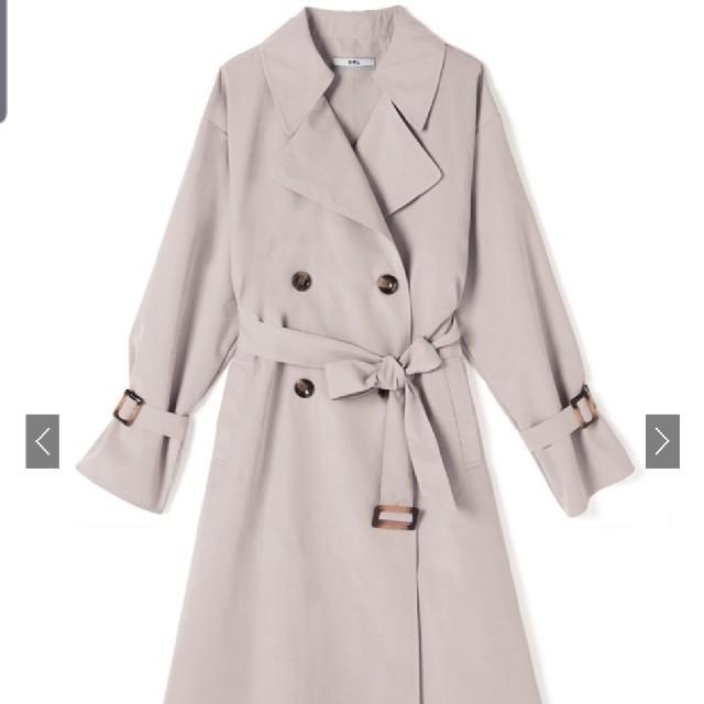 GRL(グレイル)のグレイル バッグプリーツトレンチコート レディースのジャケット/アウター(トレンチコート)の商品写真