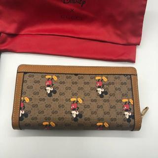 Gucci - GUCCI 財布 グッチ ディズニー ミッキー コラボ Disney