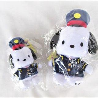 サンリオ(サンリオ)のポチャッコ ぬいぐるみ マスコットホルダー東京駅限定 POP UP SHOP (ぬいぐるみ/人形)