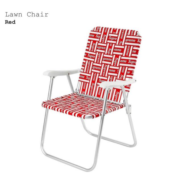 Supreme(シュプリーム)の★新品未使用★Supreme Lawn Chair インテリア/住まい/日用品の椅子/チェア(折り畳みイス)の商品写真