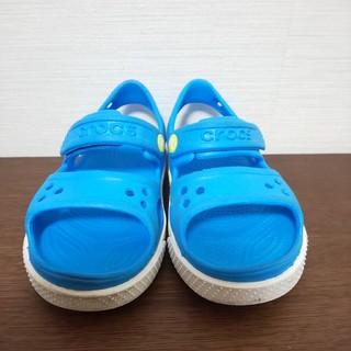 【USED】クロックス ライトブルーサンダル 15.5cm