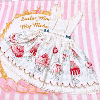 Shirley Temple - ケーキジャンパースカート