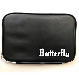 バタフライ(BUTTERFLY)のバタフライ ラケットケース(ブラック)(卓球)