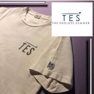 ロンハーマン(Ron Herman)の【美品✨】 TES s/s tシャツ  胸ロゴ ブランドロゴ(Tシャツ/カットソー(半袖/袖なし))