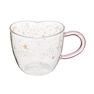 Starbucks Coffee - スターバックス  ホリデー クリスマス 2019 耐熱グラスマグハート