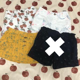 エイチアンドエム(H&M)の女の子ショートパンツ まとめ売り(パンツ/スパッツ)