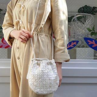 キャセリーニ(Casselini)のキャセリーニ シェルバッグ 巾着バッグ ショルダーバッグ 結婚式バッグ 2way(ショルダーバッグ)