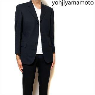 Yohji Yamamoto - J3544 美品 ヨウジヤマモト セットアップ スーツ チャコールグレー S
