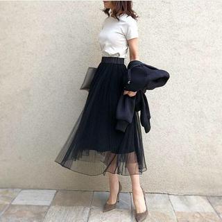 DOUBLE STANDARD CLOTHING - 限定値下げ!akko✖️ダブルスタンダード✖️sov コラボチュールスカート