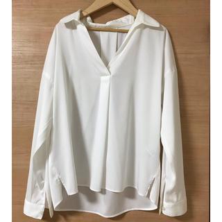 プロポーションボディドレッシング(PROPORTION BODY DRESSING)のプロポーションボディドレッシング  襟抜きシャツ(シャツ/ブラウス(長袖/七分))