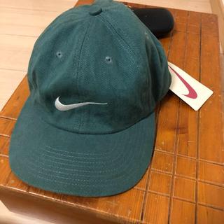 ナイキ(NIKE)のナイキ90s  銀タグ グリーン緑キャップ デッドストック(キャップ)