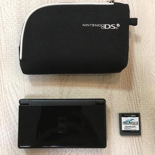 ニンテンドーDS - ニンテンドーDS lite ブラック (FF3、専用ケース付き)