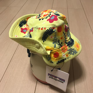patagonia - [新品未使用]Patagonia Baby little sol hat