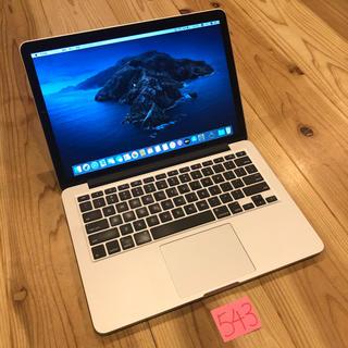 Mac (Apple) - 美品!MacBook pro retina 13インチ Late2013
