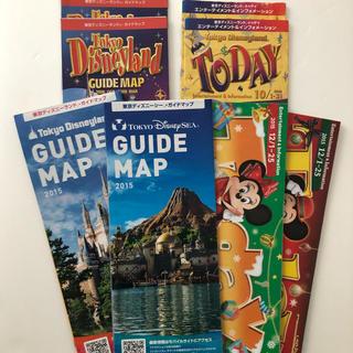 ディズニー(Disney)のディズニーランド ディズニーシー マップ(遊園地/テーマパーク)