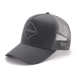 エフシーアールビー(F.C.R.B.)のFCRB グレー × グレー NEWERA EMBLEM MESH CAP(キャップ)