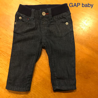 ベビーギャップ(babyGAP)のGAP babyのデニムです。 3ヵ月(パンツ/スパッツ)