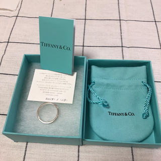 ティファニー(Tiffany & Co.)の新品。ティファニーシルバーリング。(リング(指輪))