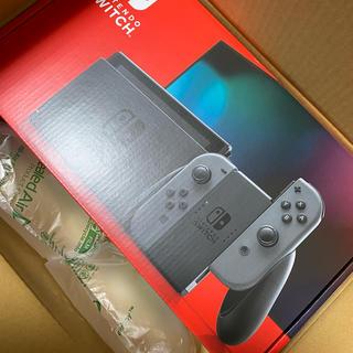 ニンテンドースイッチ(Nintendo Switch)のニンテンドー switch  本体 グレー 新品(家庭用ゲーム機本体)