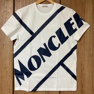 MONCLER - 【新品送料込】MONCLER モンクレール Tシャツ ホワイト 【国内完売】