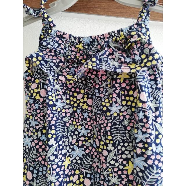 H&M(エイチアンドエム)のH&Mロンパースカバーオール6〜9M女の子ベビー キッズ/ベビー/マタニティのベビー服(~85cm)(ロンパース)の商品写真