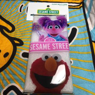 セサミストリート(SESAME STREET)の新品 セサミストリート クリアマルチケース エルモ&アビー(キャラクターグッズ)