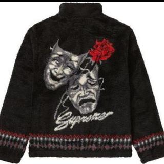 Supreme - 最安値 supreme drama mask fleece jacket