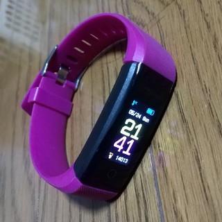 スマートウォッチサーベイパープル 時計(腕時計(デジタル))
