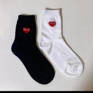 コムデギャルソン(COMME des GARCONS)の靴下 二足セット(ソックス)