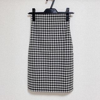 snidel - ギンガムチェックタイトスカート