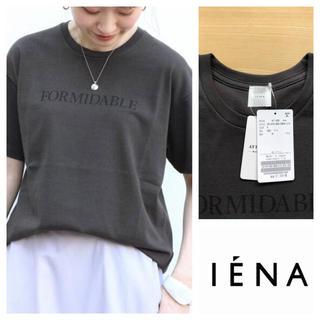 IENA - イエナ FORMIDABLEロゴプリントTシャツ ブラックA