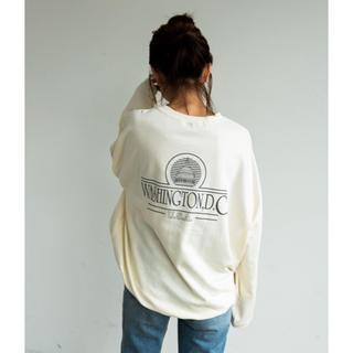 アンティローザ(Auntie Rosa)のバックプリントシャツ(Tシャツ(長袖/七分))