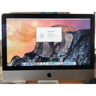 Mac (Apple) - imac 2013 21.5インチ