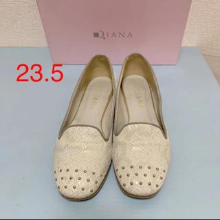 ダイアナ(DIANA)のダイアナ オペラパンプス  23.5(ローファー/革靴)