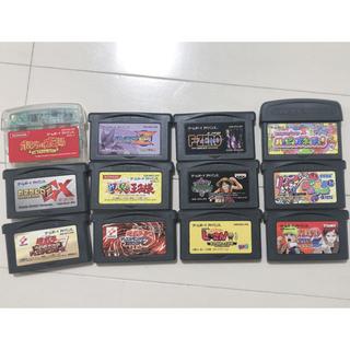 ゲームボーイアドバンス(ゲームボーイアドバンス)のGBAソフトまとめ売り(携帯用ゲームソフト)