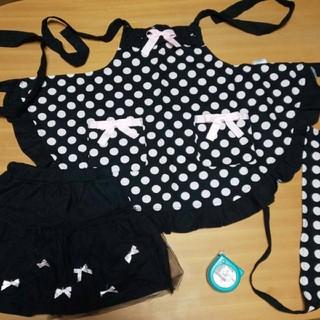 motherways - エプロン、ペチコート、三角巾、セット