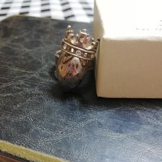ジェーンマープル(JaneMarple)のJane Marple 王冠いちごリング シルバー(リング(指輪))
