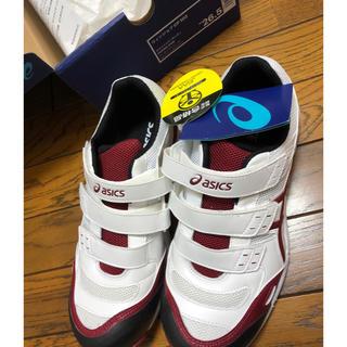 asics - 新品 asics ウィンジョブ CP102 26.5センチ 安全靴