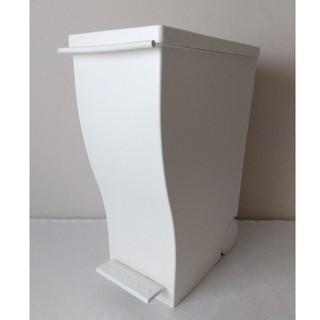 kcud クード スリムペダル 30 ゴミ箱 ごみ箱 ダストボックス ホワイト(ごみ箱)
