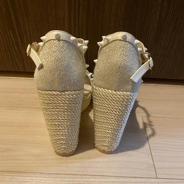 eimy istoire(エイミーイストワール)のeimyスタッズウェッジソールサンダル レディースの靴/シューズ(サンダル)の商品写真