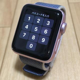 アップルウォッチ(Apple Watch)のApple Watch series2 38mm Rose gold(その他)