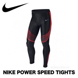 NIKE - 【人気商品・生産完了】ナイキ ランニング タイツ メンズMサイズ パワースピード