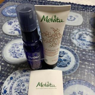 メルヴィータ(Melvita)のゲンシグラードン様専用!Melvita  オイルハンドクリーム&化粧水 セット(化粧水/ローション)