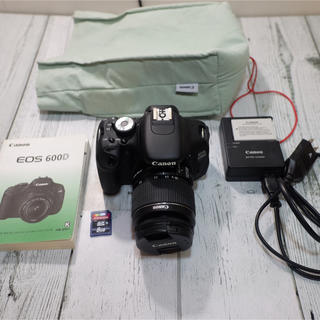 Canon - CANON EOS 600D (KISSX5) kit 18-55 自撮り&動画