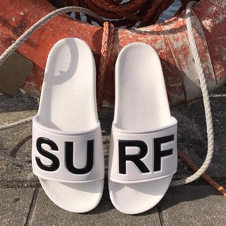 ロンハーマン(Ron Herman)の街で目立つ☆LUSSO SURF シャワーサンダル   白41☆ベナッシ(サンダル)