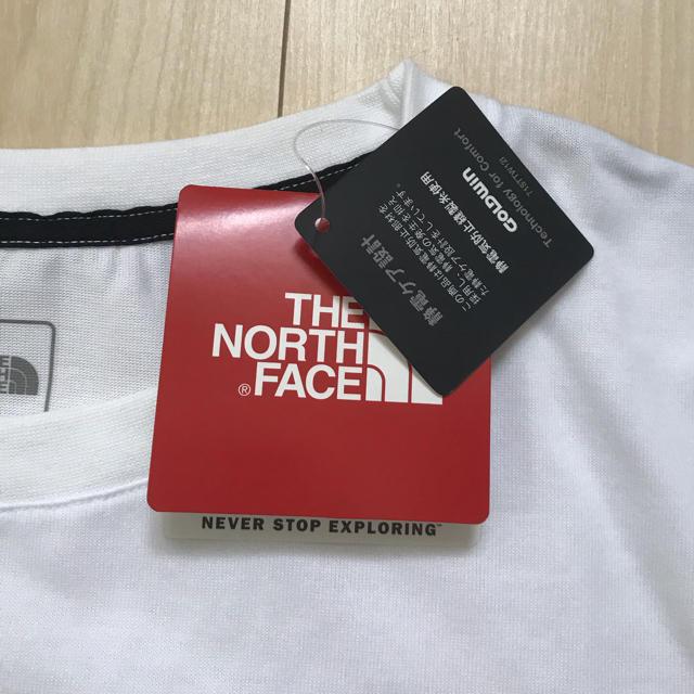 THE NORTH FACE(ザノースフェイス)の【新品未使用】THE NORTH FACE ビックロゴ Tシャツ XL メンズ メンズのトップス(Tシャツ/カットソー(半袖/袖なし))の商品写真