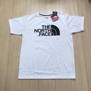 ザノースフェイス(THE NORTH FACE)の【新品未使用】THE NORTH FACE ビックロゴ Tシャツ XL メンズ(Tシャツ/カットソー(半袖/袖なし))