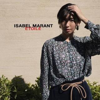 Isabel Marant - イザベルマラン 花柄シフォンブラウス