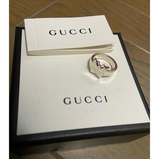 Gucci - GUCCI リング グッチ 指輪 バタフライ 蝶々